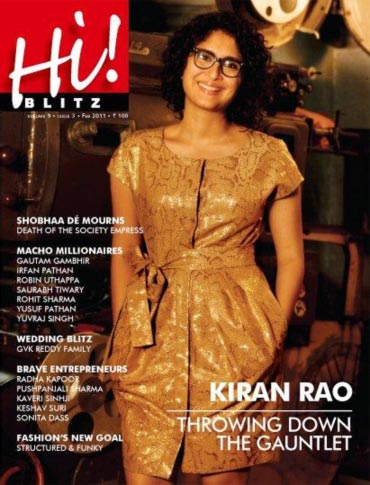 Kiran Rao on the cover of Hi! Blitz