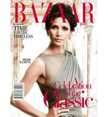Mehr Jessia on the cover of Bazaar