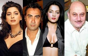 Juhi Chawla, Ranvir Shorey, Celina Jaitley and Anupam Kher