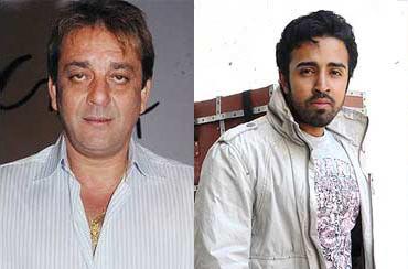 Sanjay Dutt and Nilesh Sahay