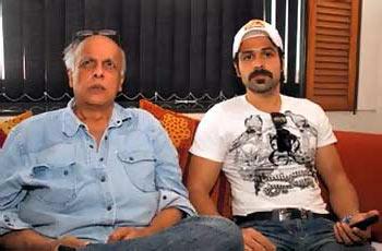 Mahesh Bhatt and Emraan Hashmi