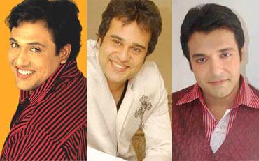 Govinda, Krushna and Vinay Anand