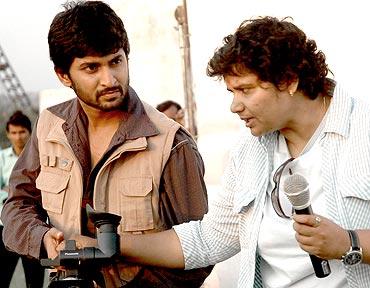Nani with director Nandini Reddy