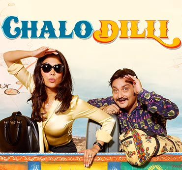Movie poster of Chalo Dilli