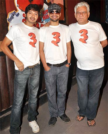 Shreyas Talpade, Deepak Dobriyal and Om Puri