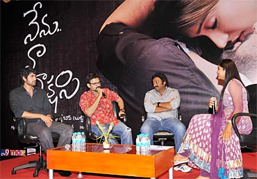 Audio release of Nenu Naa Rakshasi