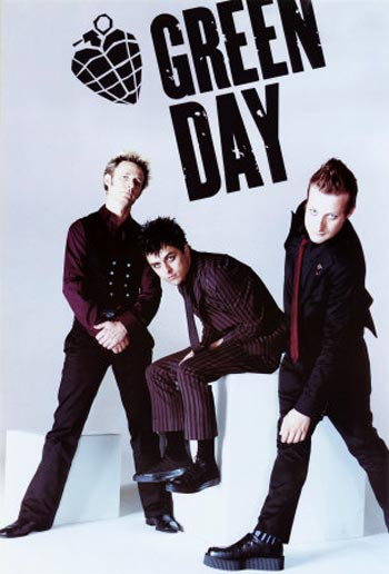 A Green Day album cover