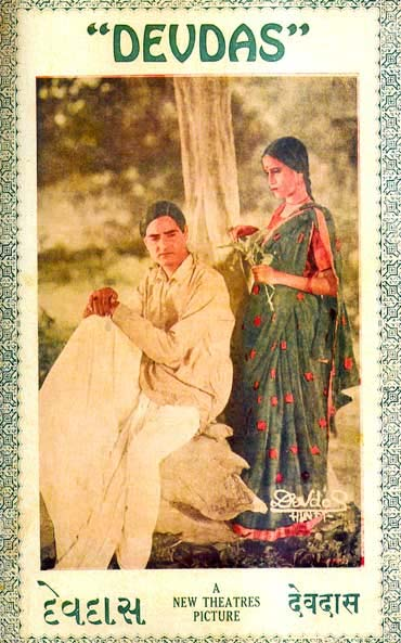 The Devdas poster