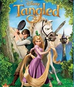 The Tangled DVD