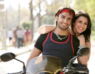 Ranveer Singh and Parineeti Chopra