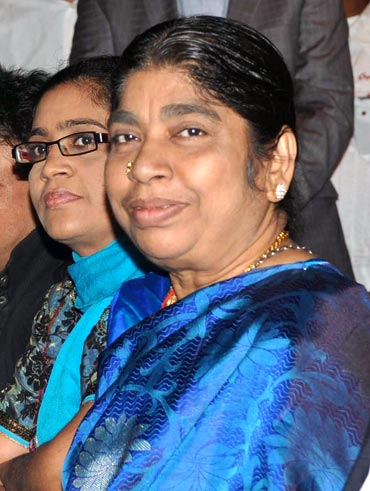 Rahman's sister Raihanah and mother Kareema