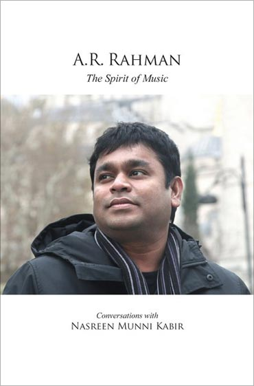 Cover of the book A R Rahman The Spirit of Music