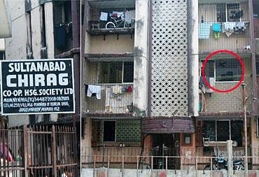 Mubarak Begum's house in Jogeshwari