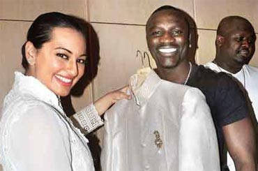 Sonakshi Sinha and Akon