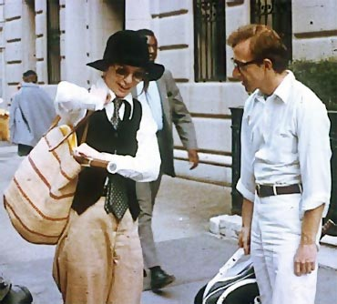 A scene from Annie Hall