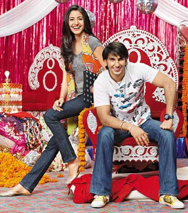A scene from Band Baaja Baaraat