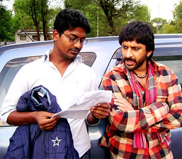 Vinay Kumar and Arshad Warsi