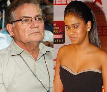 Salim Khan and Arpita Khan