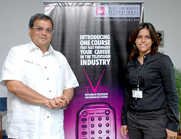 Subhash Ghai and Meghna