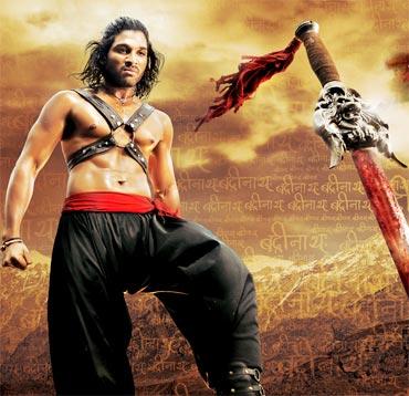 First Look: Allu Arjun's Badrinath - Rediff com movies