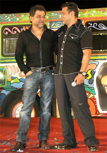Anees Bazmee and Salman Khan