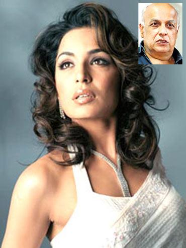 Meera. Inset: Mahesh Bhatt