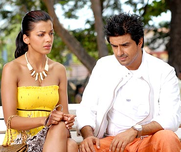 Mugdha Godse and Sameer Soni in Fashion
