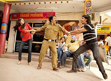A still from Band Baaja Baraat