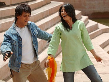 A still from Rang De Basanti