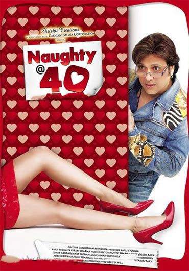 Movie poster of naughty @40