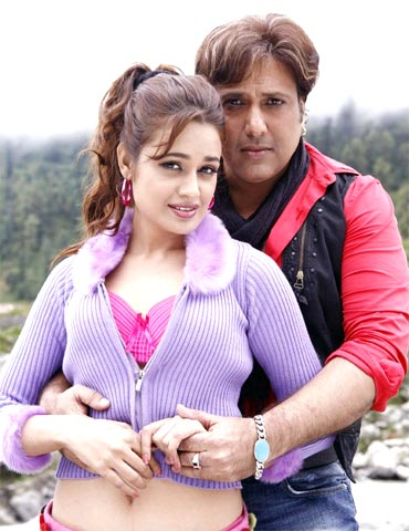 Govinda and Yuvika Choudhury