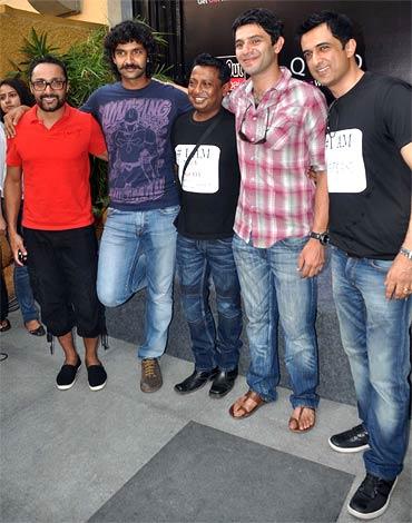 Rahul Bose, Purab Kohli, Onir, Arjun Mathur and Sanjay Suri