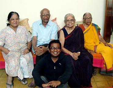 C A and Padma Reddi