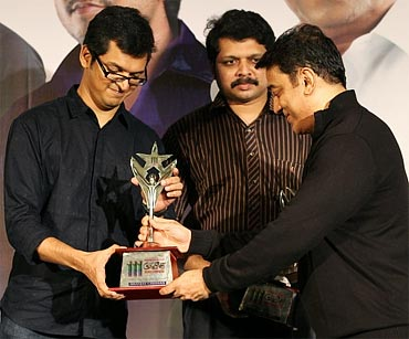 Kamal Haasan with Sanjay and Bobby