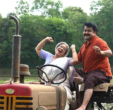 Sheela and Mohanlal