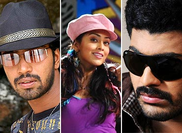 Allari Naresh, Shriya and Sharwanand