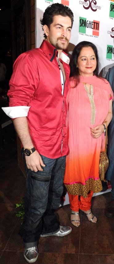 Neil Nitin Mukesh and Nishi Mukesh