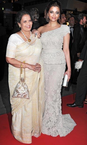 Vrina Rai and Aishwarya Rai Bachchan