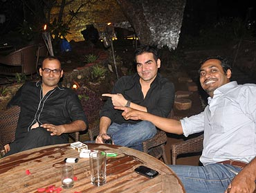 Sunil Bora, Arbaaz Khan and Abhinav Kashyap