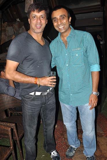 Madhur Bhandarkar and Sanjay Gadhvi