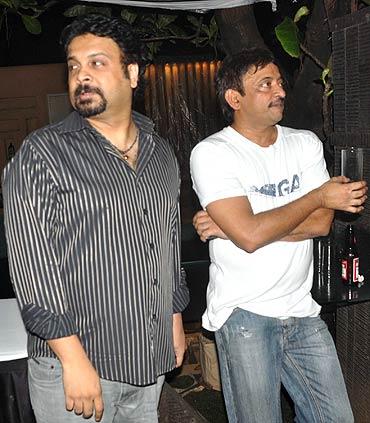 Sandeep Chowta and Ram Gopal Varma