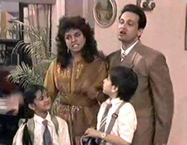 A scene from Dekh Bhai Dekh