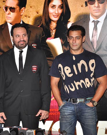 Shera and Salman Khan
