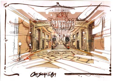 A sketch of the sets of Om Shaniti Om