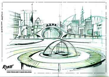 A sketch of the sets of Endhiran/Robot