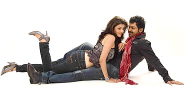 Kaajal Agarwal and Karthi