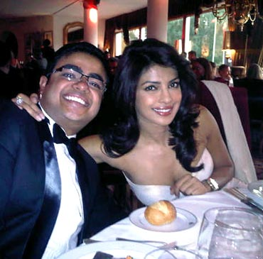 Priyanka Chopra with brother Siddharth