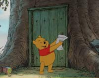 A scene from Winnie the Pooh