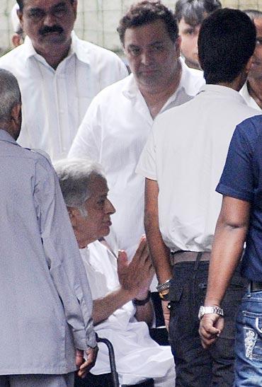 Shashi and Rishi Kapoor