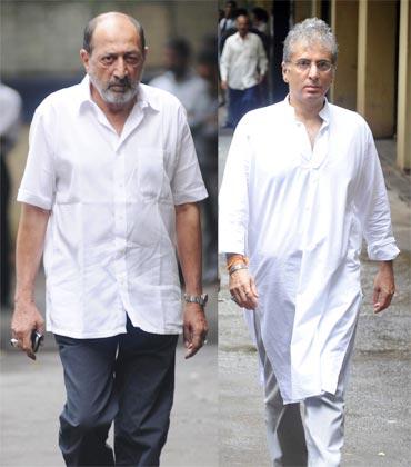 Tinnu Anand and Aditya Raj